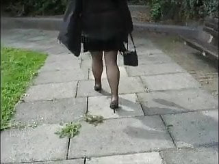 Up skirt photos amateur Voyeur stockings,high heels,up skirt