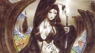 Erotic Fantasy Art 2 - Louis Royo