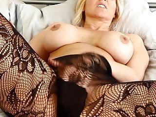 Julia mancuso lingerie Milf julia ann tries on lingerie masturbates
