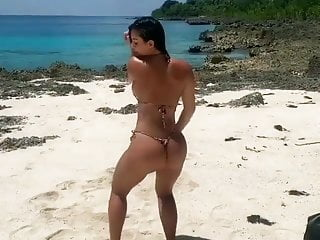Homemade extreme bikini Extreme flashing