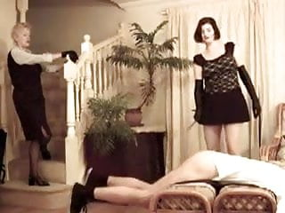 Spanked mothers Mother and not her daugther hard caning