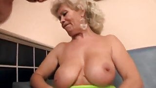 Granny Blondie is fucked right !