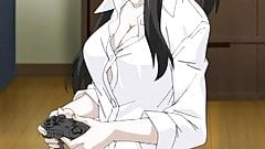 Girl rather plays with Cock instead with Playstation 3
