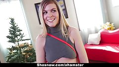 ShesNew - Blonde Amateur Hopes To Be Pornstar
