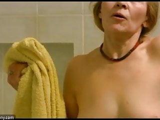 Hot woman sucking dick Oldnanny old skinny woman masturbating and sucking dick