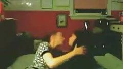 Amateur Lesbian Teen Nerds Make Sweet Love