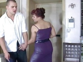 Mature with young guy videos Sexy mature with young guy
