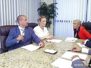 Big tits at work richards - Brazzers - nina elle - big tits at work
