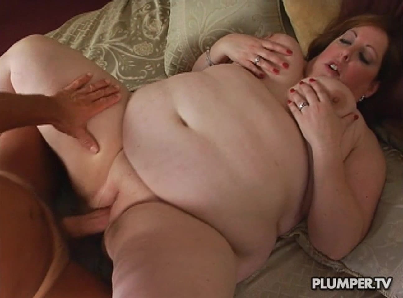 nailed Chubby mature gets