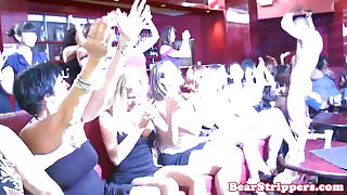 Wild party babes cocksucking strippers