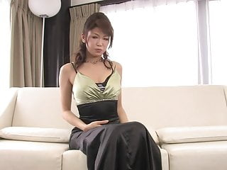 Tifa blowjob and titty fuck Japanese beauty sucks and titty fucks hard dick