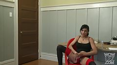 Beretta James and Ladie Lune Strapon fuck