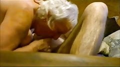 Cocksucking granny