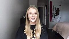 Petite Blonde Pornstar Paris White Sex Work Talk Interview