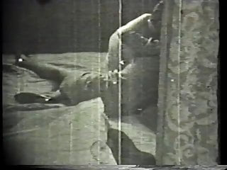 Dick of a guy - Vintage footage of a guy fucking a gorgeous blonde buxom beauty