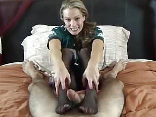 Losing a tooth as an adult Wife giving footjob after losing a bet