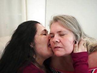 Lez licking orgy clips Lez vid with joyce antonella face lick, kiss, ass worship