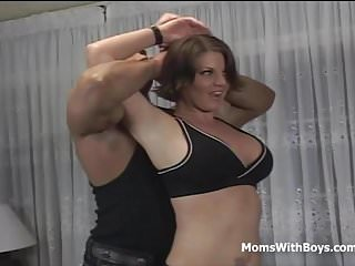 Blonde sex with trainer Mature kayla quinn sex with trainer