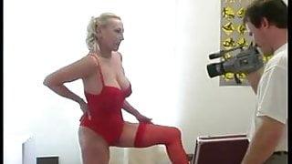 Big tit mature likes being filmed