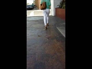 White lesbian nice ass dildo Nice ass in white jeans