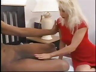 Biggests cocks Blonde mom sucks and fuck the biggest black cock