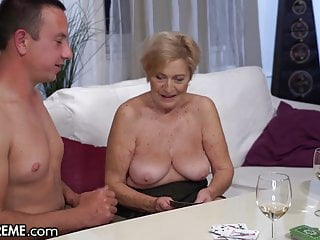 Grannys wh love young cock - 21sextreme big titty mature loves riding young cock