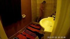 step sister spy masturbation shower