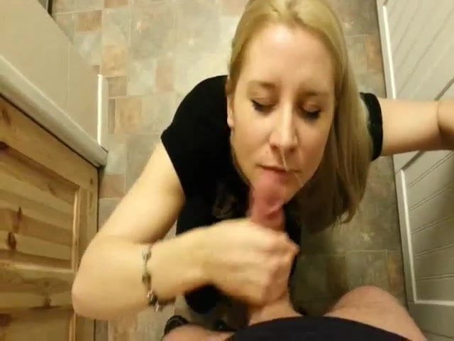 Cumming While Giving Blowjob