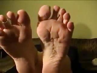 Yankee vintage memorabelia - Pov yankee-american foot joi by an office blonde