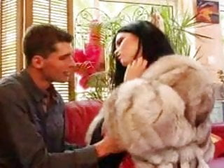 Fur coat fetish gallery Babe in fur coat and boots gets fucked
