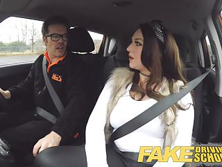 Gay train drive Fake driving school instructor gets titty wank from big tits