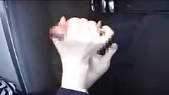 Japanese stewardess lends a hand