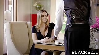 BLACKED - Naughty Girlfriend Natasha Nice Enjoys BBC