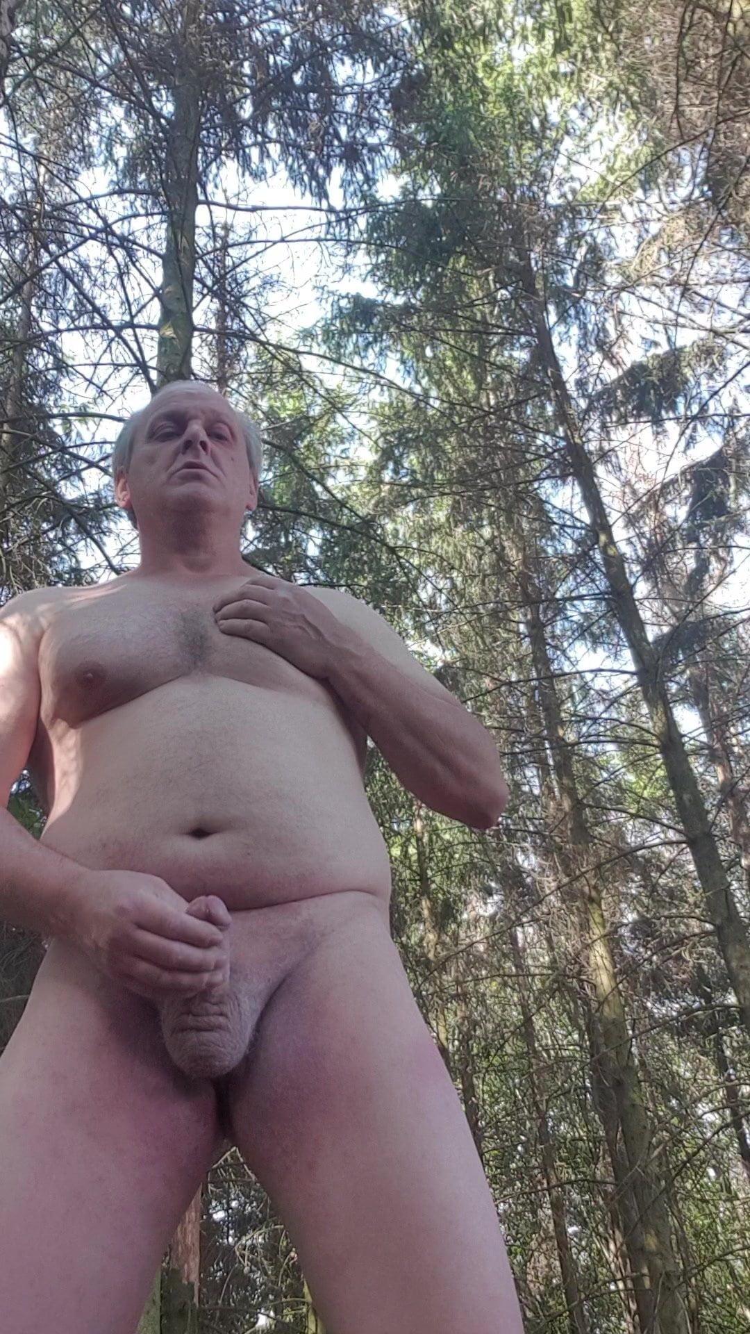 outdoor nackt schwanz