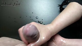 BIRTHDAY GIRL 18 YEARS - GETS A HANDJOB AND GETS CUM IN HAND