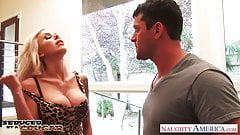 Tattooed cougar Nina Elle fucking