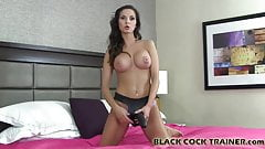 Its time for you to take your first big black cock