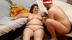 太った熟女のファック