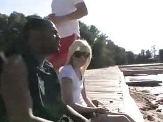 Blowjobs on boats Very sexy blonde fucked hard by lucky bbc on boat