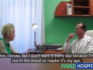 Voyeur patient videos - Fakehospital busty tattooed patient fucked hard