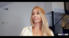 Blonde Babe hasnt had cock in awhile
