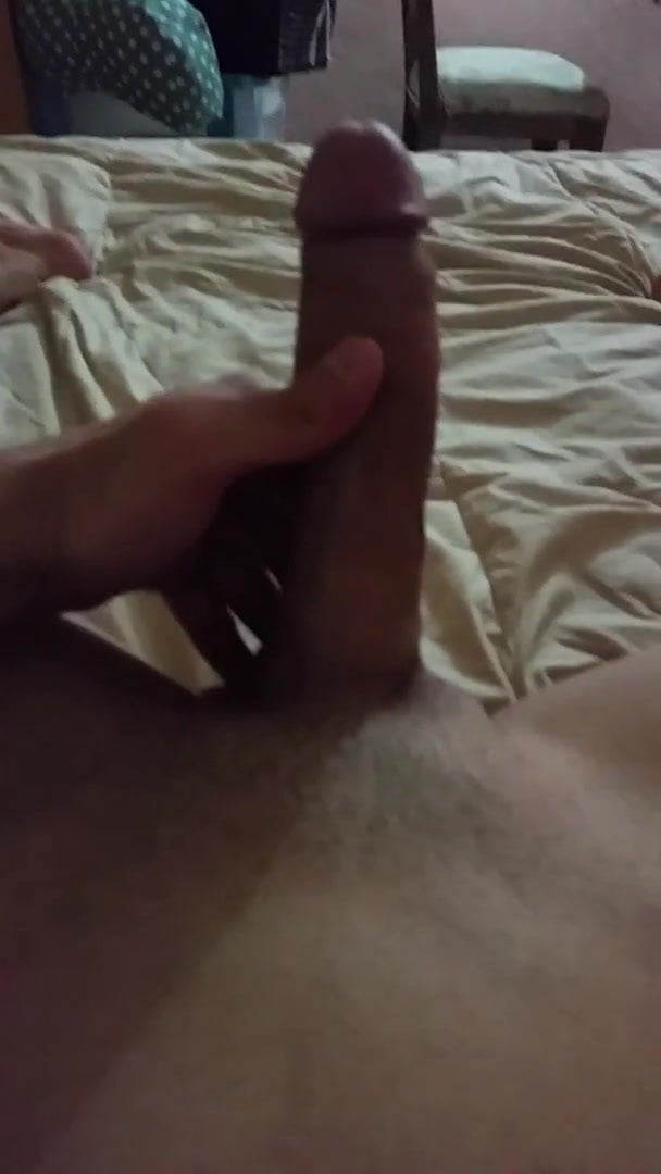Shemale Jerking Off Solo
