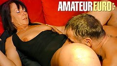 XXX Omas - Hot Dirty Sex With German Passionate Couple