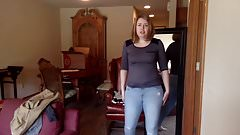 Trying clothes milf