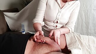 Medical examination with a happy ending