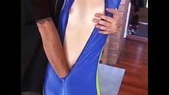 Superheroine Blue Spectre