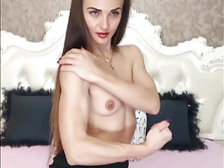 Very long hair sex porn Very sexy brunette hairplay, long hair, hair