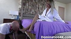 Adorando los pies sexy de kendra lynn