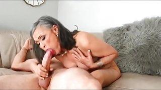 Mature woman has vacation sex