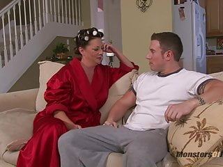 Female curlers nude calender Big tit milf sucks cock in curlers